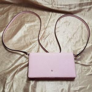 Kate Spade Light Pink Crossbody Wallet
